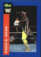 1991 WWF Classic Superstars Cards Koko B. Ware 53