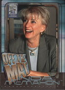 2002 WWF All Access (Fleer) Linda McMahon 61