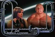 Stephanie McMahon vs Brock Lesnar
