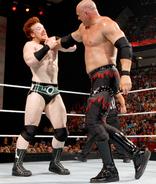 Kane vs sheamus