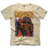 Randy Savage Macho Man Glasses by 500 Level T-Shirt