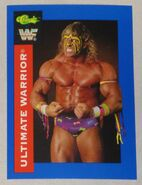 1991 WWF Classic Superstars Cards Ultimate Warrior 124