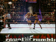 Royal Rumble 2000 Chyna cheap-shot