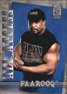 2002 WWF All Access (Fleer) Faarooq 21