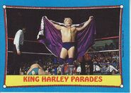 1987 WWF Wrestling Cards (Topps) King Harley Parades 31