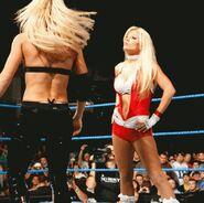 Krissy WWE Debut 1