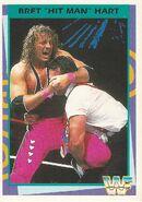 1995 WWF Wrestling Trading Cards (Merlin) Bret Hart 89