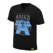 Austin Aries Ambition and Vision Authentic T-Shirt