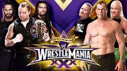 WM30 6 Man Tag Team Match