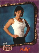 2002 WWE Absolute Divas (Fleer) Molly 24