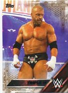 2016 WWE (Topps) Then, Now, Forever Triple H 149