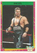 1995 WWF Wrestling Trading Cards (Merlin) Diesel 136