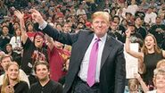 Donald Trump at ringside during WM XX March 2004
