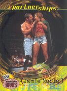 2002 WWE Absolute Divas (Fleer) Jamie Noble 47