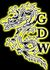 Gold Dragon Wrestling logo