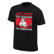 Roddy Piper I Change the Questions Vintage T-Shirt