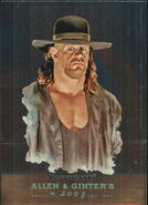 2008 WWE Heritage III Chrome (Topps) (Allen & Ginter) Undertaker 6