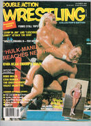 Double Action Wrestling - October 1986