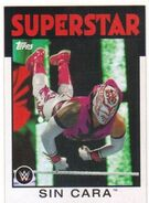2016 WWE Heritage Wrestling Cards (Topps) Sin Cara 34
