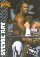 1999 WCW-nWo Nitro (Topps) Stevie Ray 37