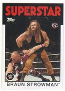 2016 WWE Heritage Wrestling Cards (Topps) Braun Strowman 5
