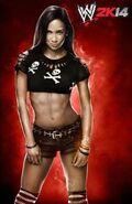 WWE2k14 AJ Lee