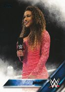 2016 WWE (Topps) Then, Now, Forever JoJo 126