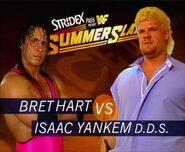 SS 95 Bret Hart v Isaac Yankem