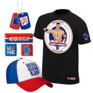 John Cena Hustle Loyalty Respect T-Shirt Package