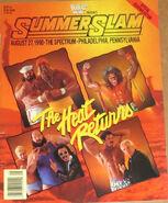 SummerSlam 1990 Program