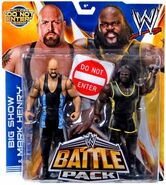 WWE Battle Packs 27 Big Show & Mark Henry