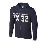WrestleMania 32 Full-Zip Youth Hoodie Sweatshirt