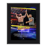 Big Show FastLane 2017 10 X 13 Commemorative Photo Plaque