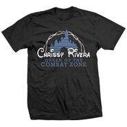 Chrissy Rivera Queen of the Combat Zone Shirt