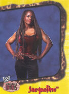 2002 WWE Absolute Divas (Fleer) Jacqueline 8