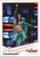 2013 WWE (Topps) Cameron 7