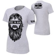 Daniel Bryan Respect The Beard T-Shirt.1 women