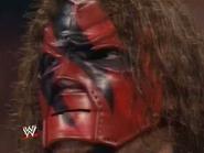 Masked Kane's face