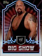 2011 Topps WWE Classic Wrestling Big Show 7