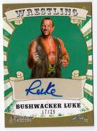 2016 Leaf Signature Series Wrestling Bushwacker Luke 14