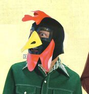Crazy Chicken Mask