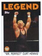 2016 WWE Heritage Wrestling Cards (Topps) Curt Hennig 93
