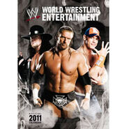 WWE Calendar, World Wrestling Calendar 2011 official calendar