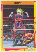 1995 WWF Wrestling Trading Cards (Merlin) Doink 172
