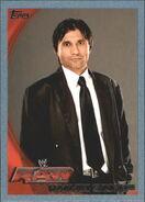2010 WWE (Topps) Ranjin Singh 54