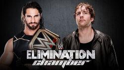 EC 2015 Seth Rollins v Dean Ambrose
