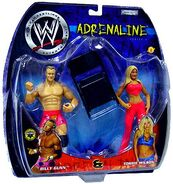 WWE Adrenaline Series 4 Billy Gunn & Torrie Wilson