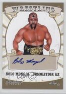 2016 Leaf Signature Series Wrestling Bolo Mongol 12