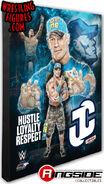 John Cena (Blue) - WWE 16x20 Canvas Print