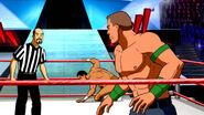 JimmyKorderas+AlbertoDelRio+JohnCena in WrestleMania Mystery